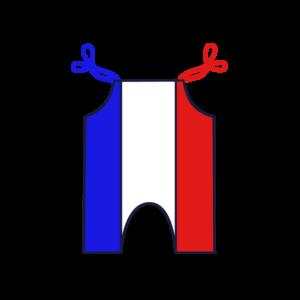 Sacopette fabriquée en France