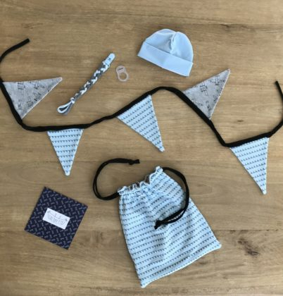 Accessoires sacobox blue flag